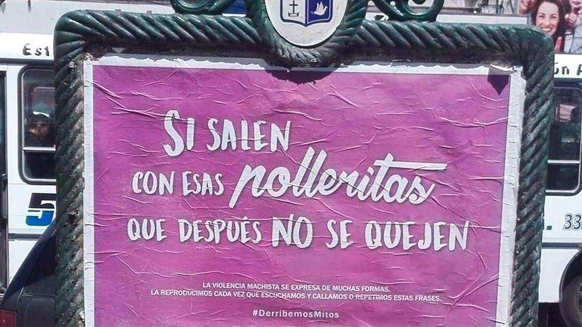 Polémica por campaña del Municipio de Pilar contra la violencia de género
