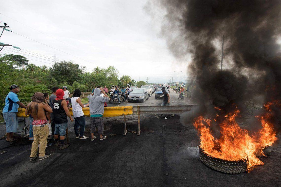 Galería | Continúa la tensión en Honduras tras las elecciones
