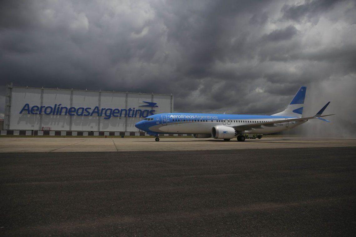 Una amenaza de bomba generó temor en un avión de Aerolíneas Argentinas
