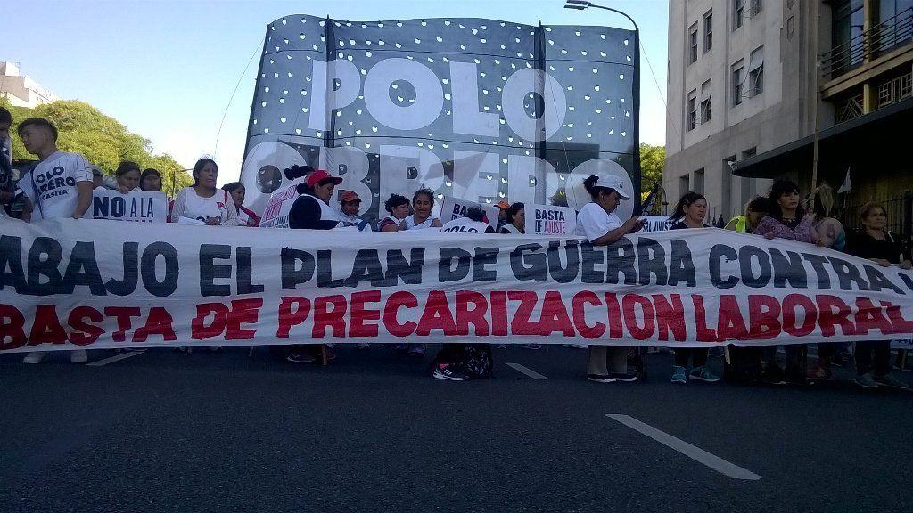 Se levantó el acampe en el centro porteño contra reformas económicas de Macri