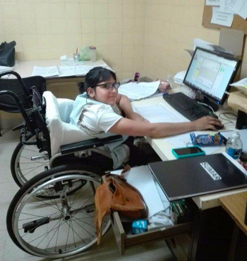 Trabajo con inclusión  en varias  áreas municipales