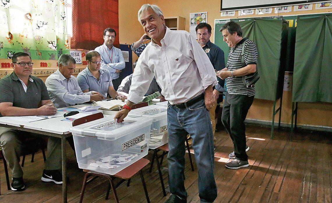 dPiñera afirmó que en el balotaje tendrá representantes en la mayoría de las mesas para evitar irregularidades.