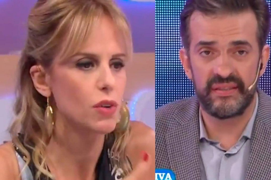 Durísimo: Mariana Fabbiani y Martín Ciccioli se cruzaron al aire