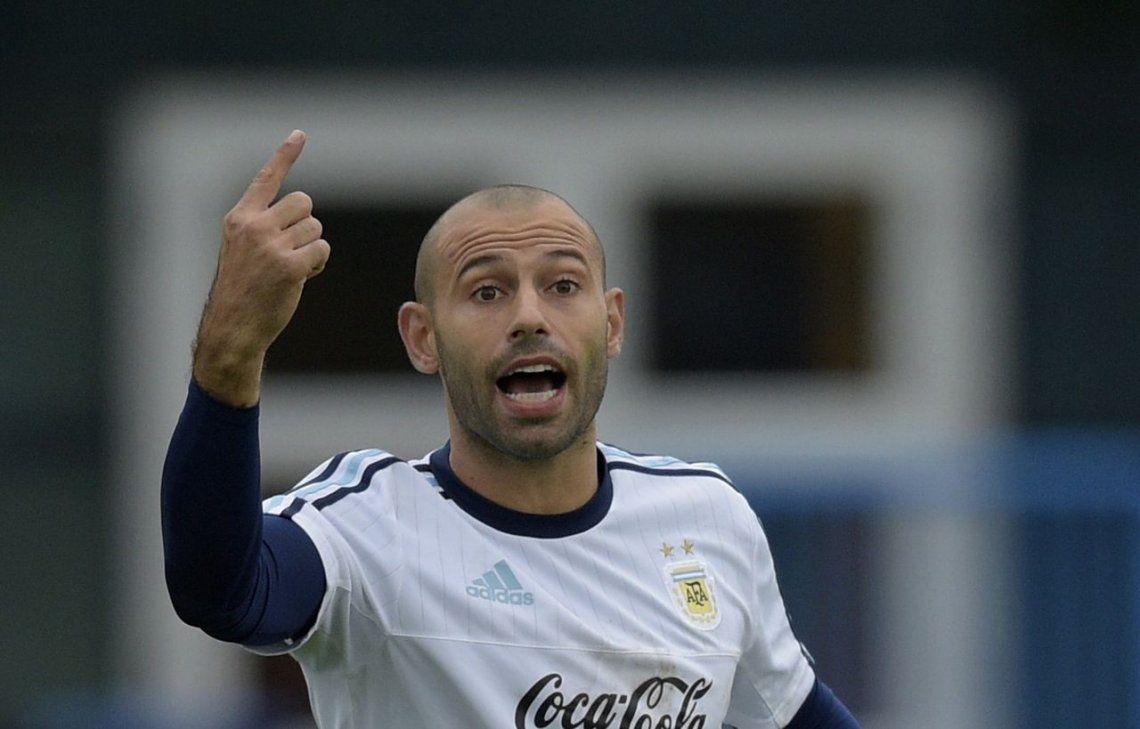 Mascherano busca salir del Barcelona para llegar con ritmo al Mundial