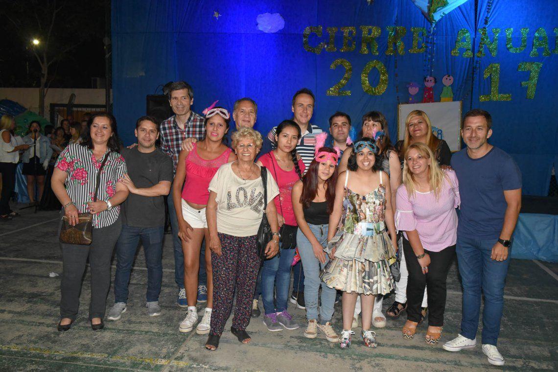 Festivo cierre de talleres en el Centro de Desarrollo San Alberto