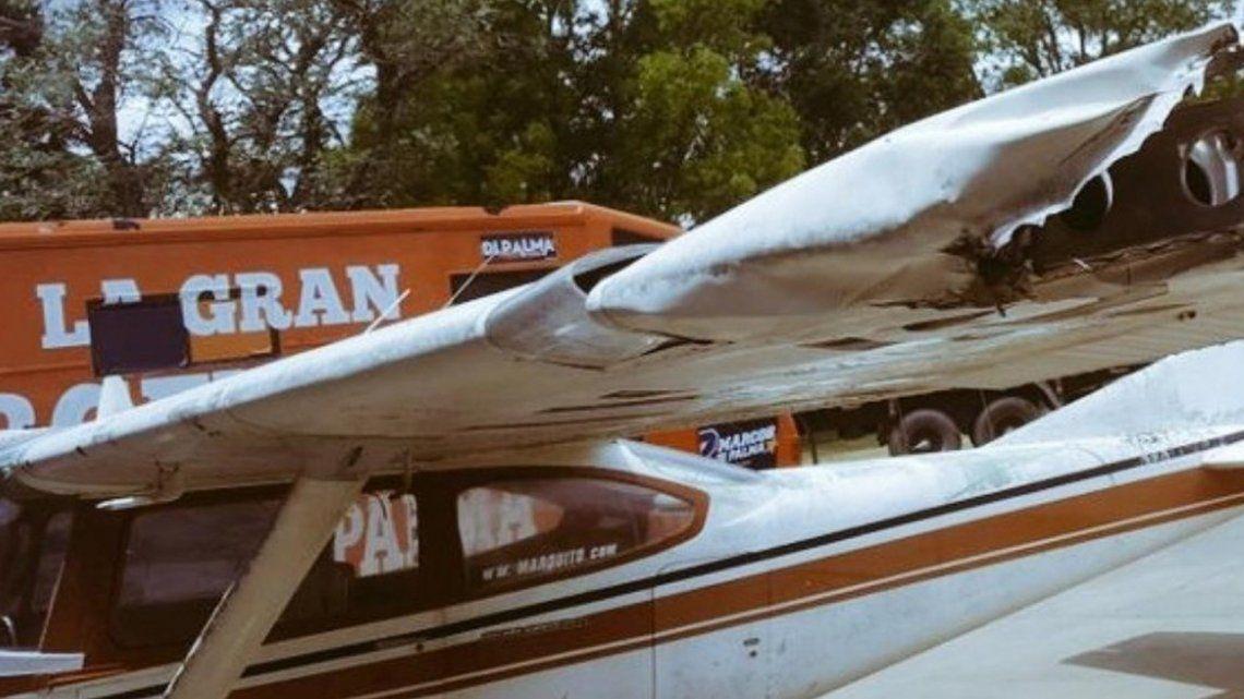 MarcosDiPalmatuvo un accidente con su avión y dejó sin luz a dos pueblos