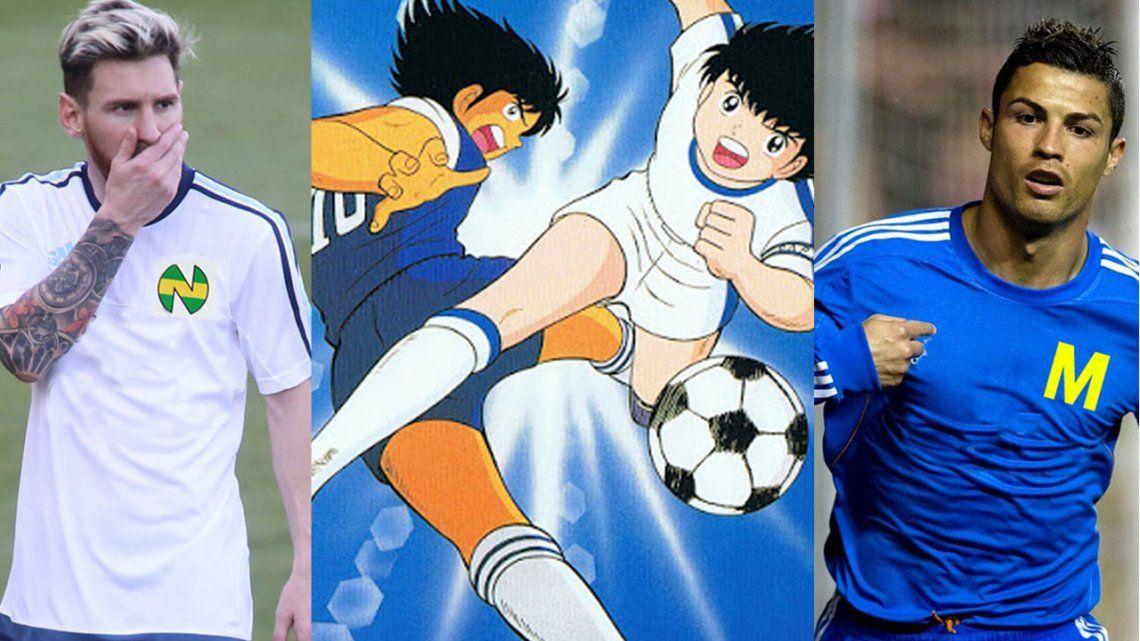 Messi y Cristiano a los Supercampeones: ¿los nuevos Oliver y Steve?