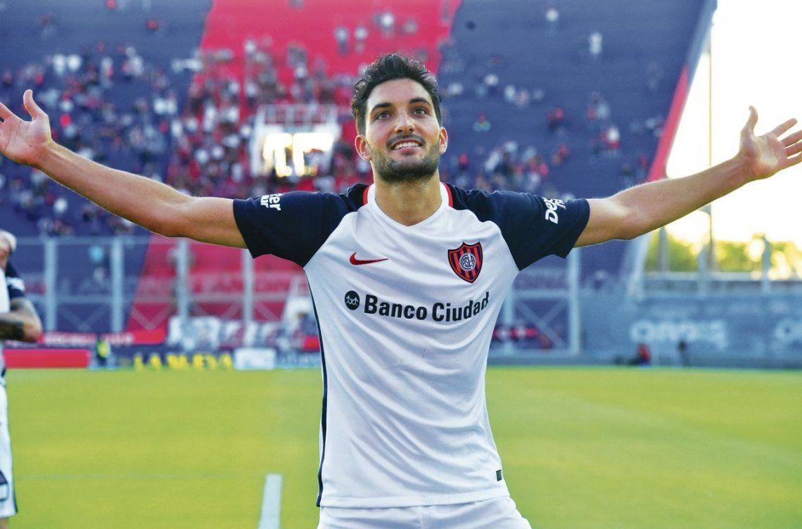 dNicolás Blandi es el jugador más valioso de San Lorenzo en ofensiva en lo que se lleva jugado de la Superliga.