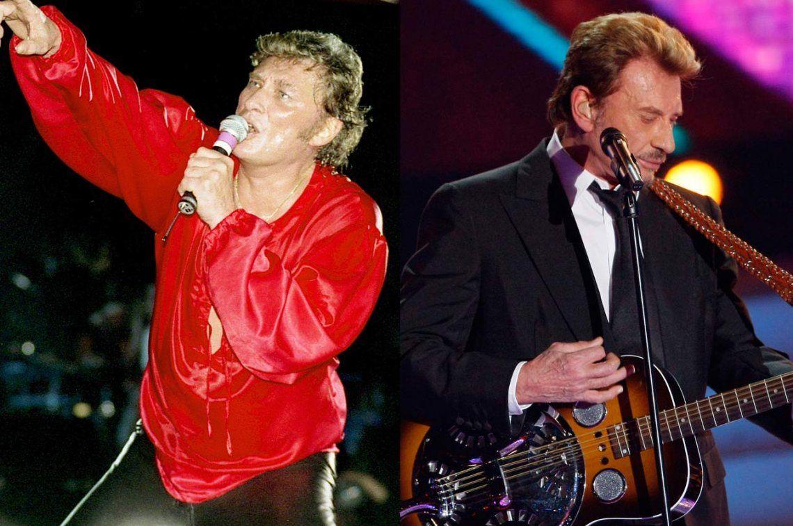 Murió Johnny Hallyday, el Elvis Presley francés: sus 10 mejores canciones