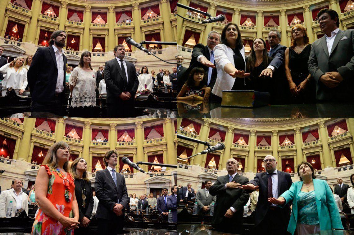 Juraron 126 diputados en el Congreso y Monzó renovó su cargo como presidente