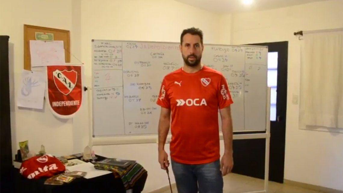 Video   Conocé al astrólogo que anticipó que Independiente le ganaba a Flamengo