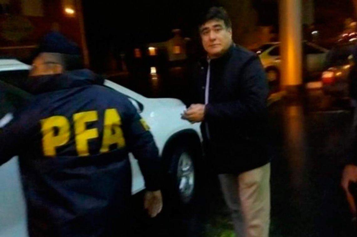 Detuvieron a Carlos Zannini en Río Gallegos