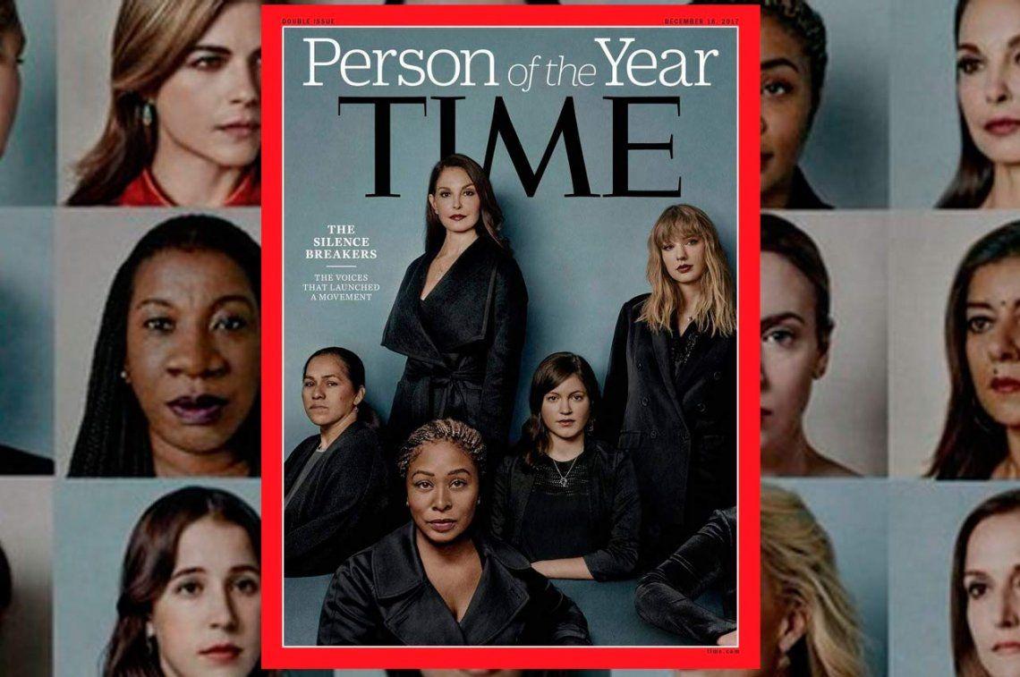 La revista Time declaró Personas del año a quienes rompieron el silencio contra los abusos de Hollywood