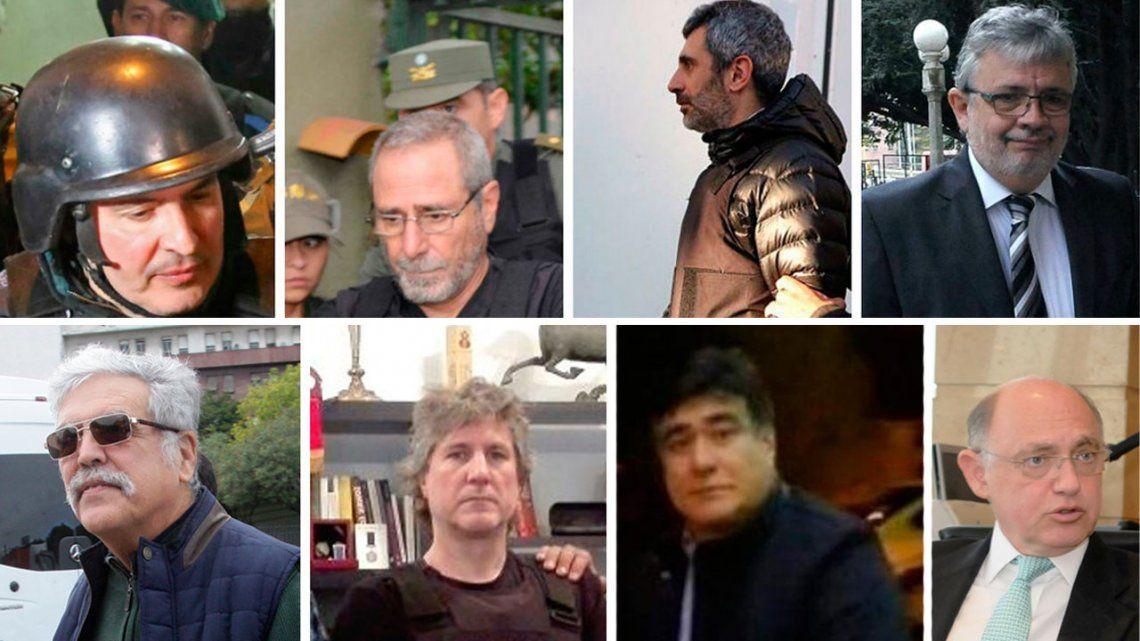 Quiénes son los ex funcionarios kirchneristas que están detenidos