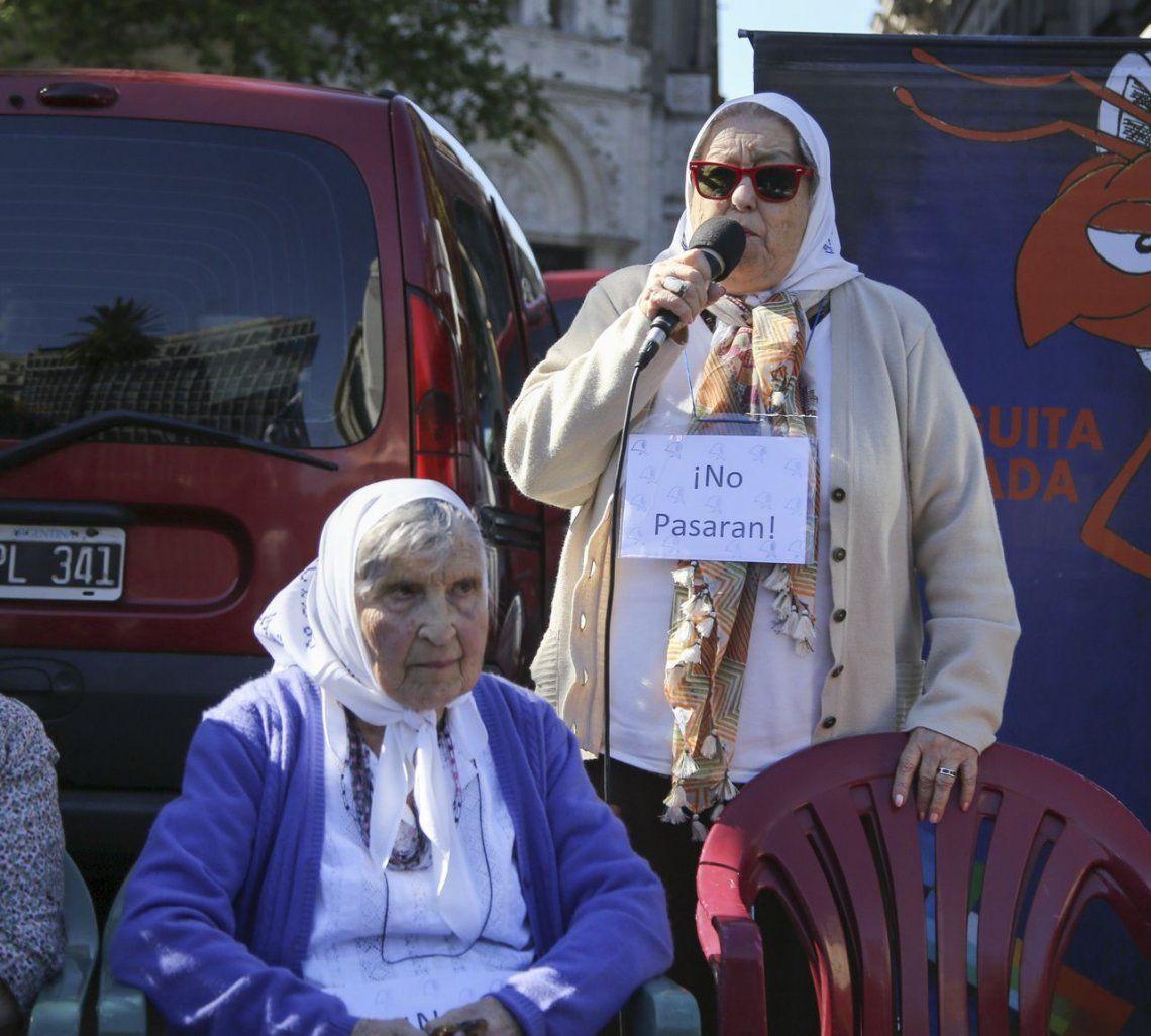La amenaza de Bonafini: Si detienen a Cristina se va a armar quilombo