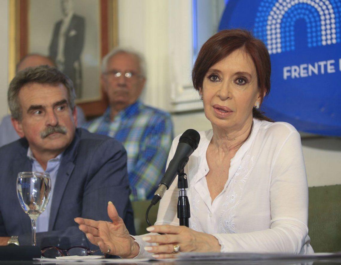 Cristina: Macri es el director de la orquesta y Bonadio ejecuta la partitura judicial