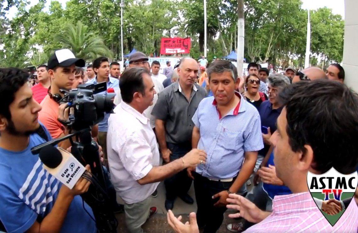 Municipales de San Vicente fueron agraviados por funcionario