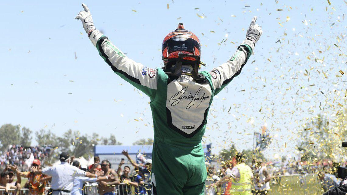 En un final apasionante, Canapino se coronó campeón del TC 2017