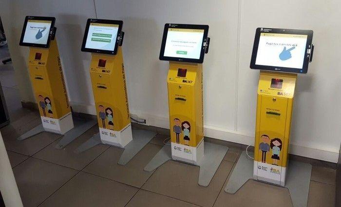 Terminales de pago automático en la comuna 4