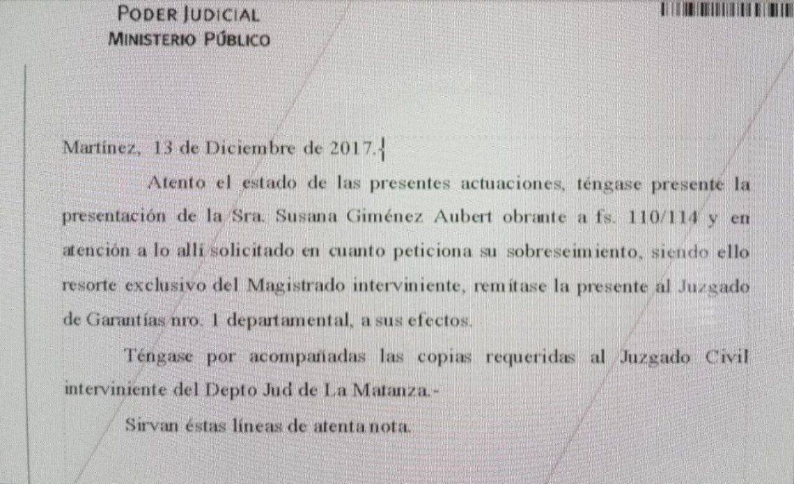 Susana pidió ser sobreseída en la causa que la enfrenta a Maradona