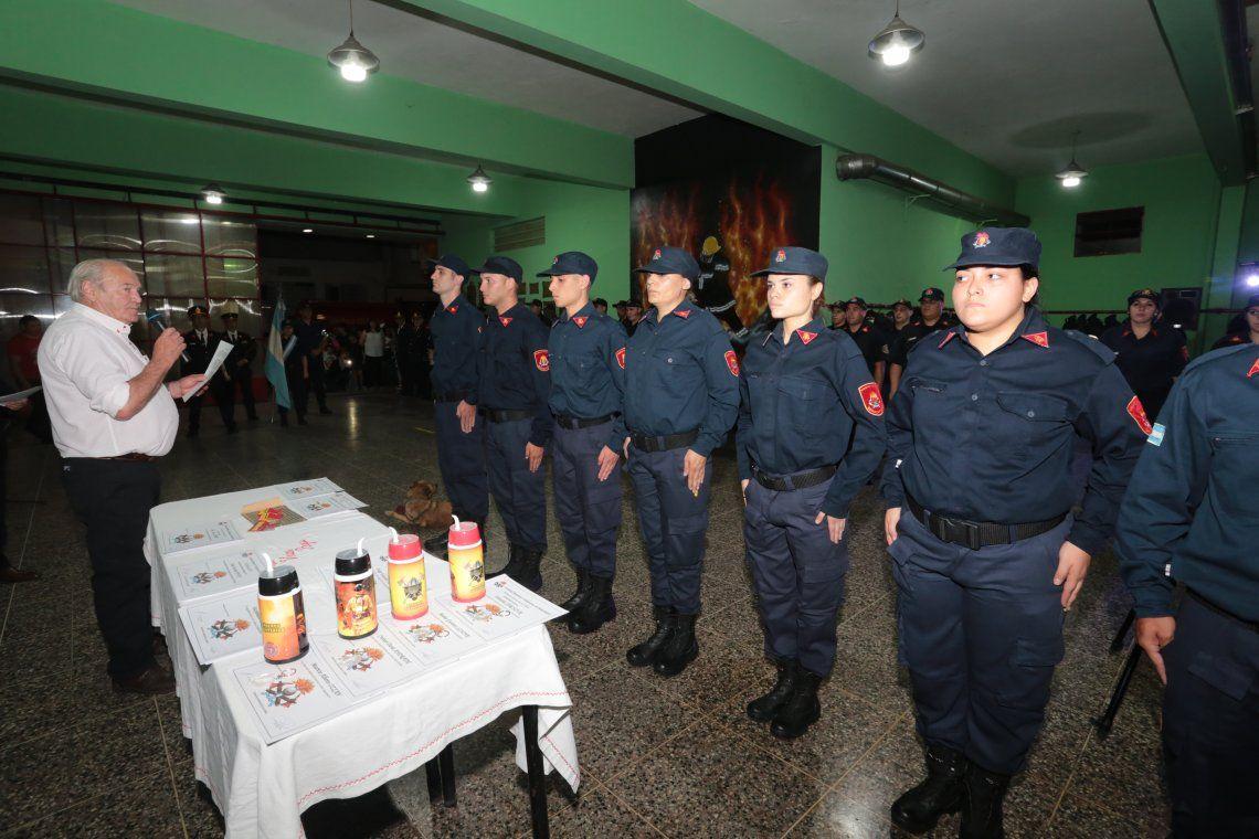 Bomberos de Berazategui celebraron sus 69 años