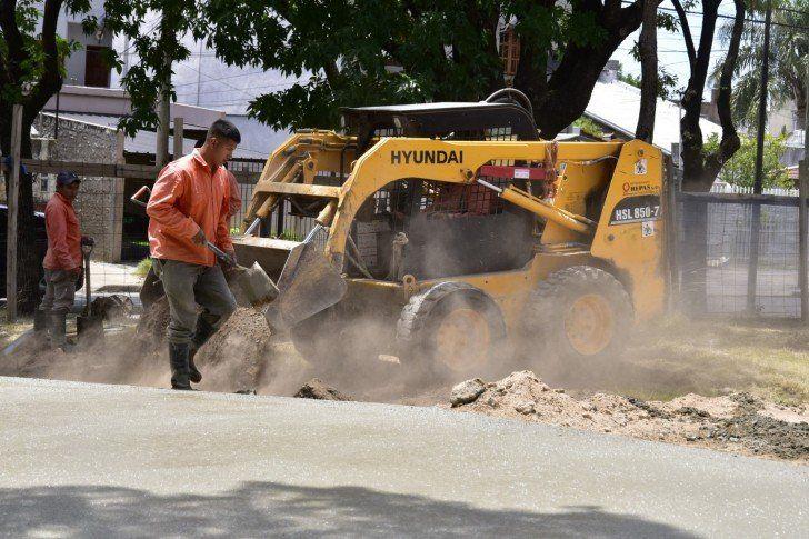 Avanza la remodelación de la Plaza Ader de Villa Ballester