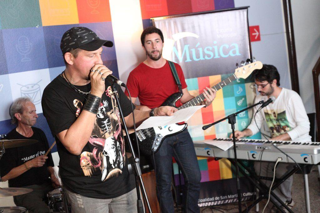 Más de 1600 vecinos participaron de los talleres de música en 2017