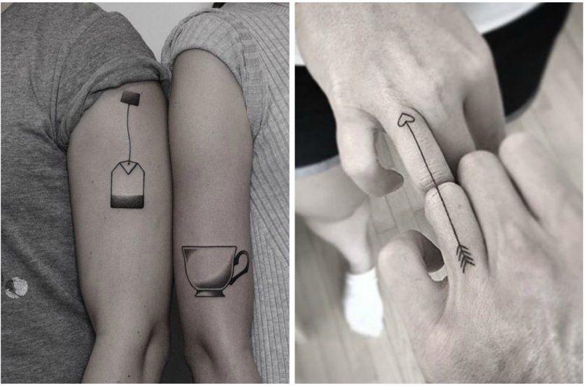 10 Ideas Originales Para Tatuarse En Pareja Tatuajes