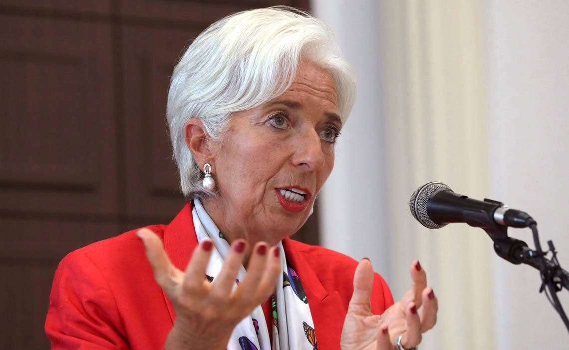 Llega Christine Lagarde del FMI y se reunirá con Macri