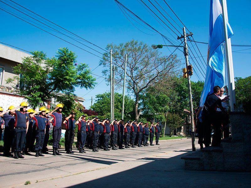 Celebración de los Bomberos de Varela