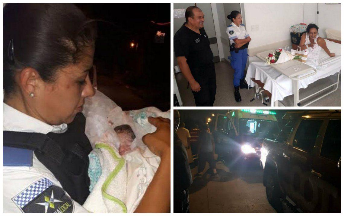 Policías de Tigre ayudaron a una mamá a dar a luz a mellizos prematuros