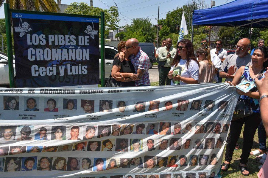 Emotivo homenaje a dos víctimas de Cromañón