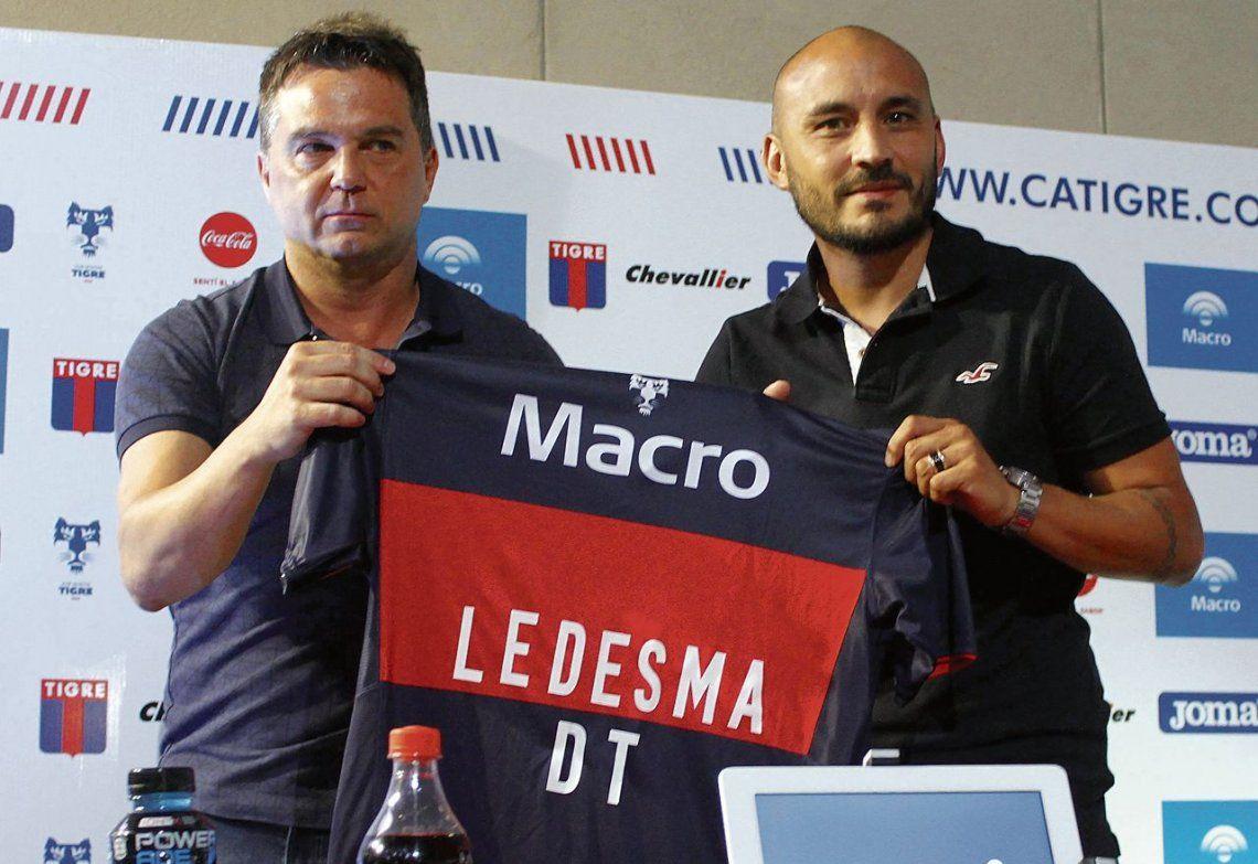 dLedesma fue presentado ayer después del primer entrenamiento de la pretemporada.