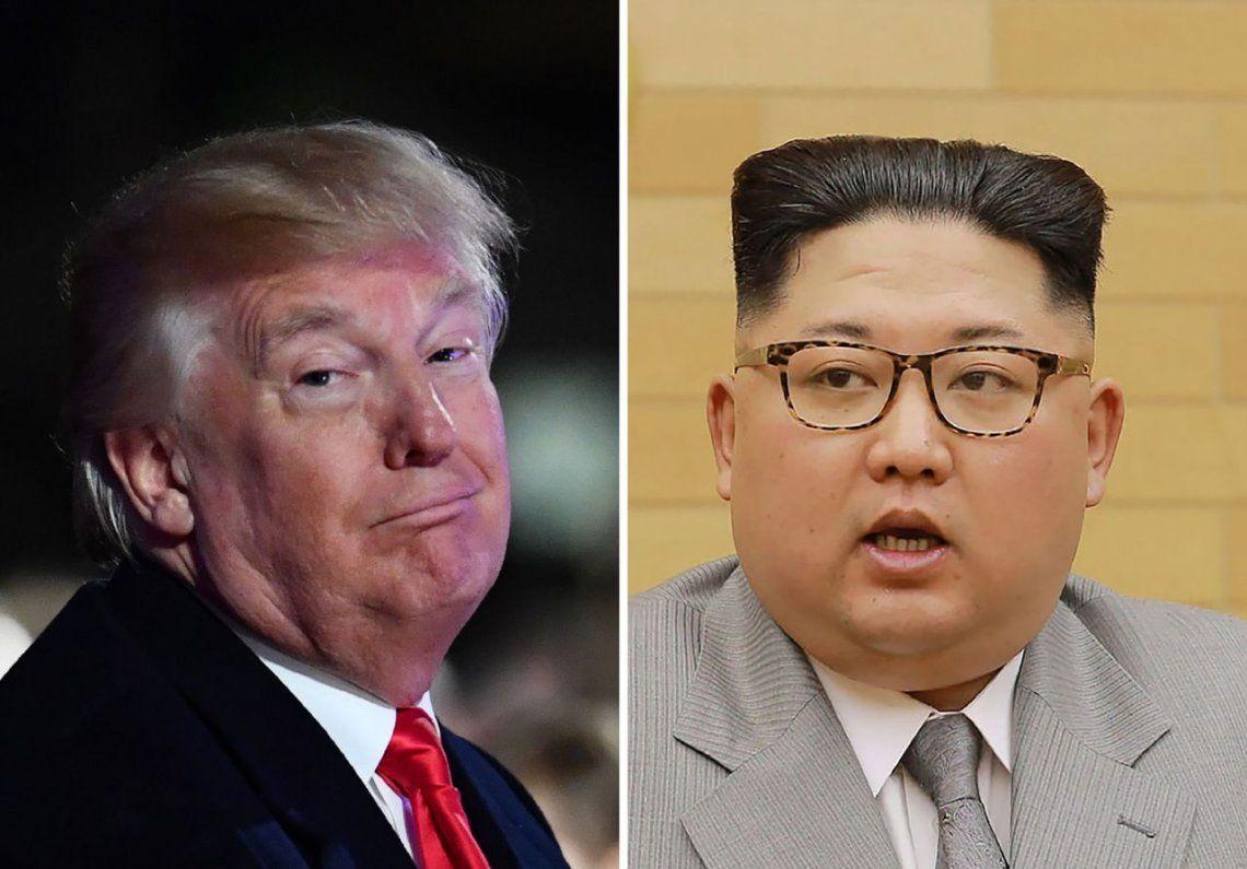 Trump desafió a Kim Jong Un: Mi botón nuclear es mucho más grande y más poderoso