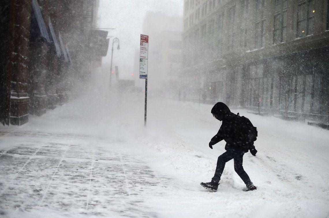 Qué es un ciclón bomba, el fenómeno que congeló a Estados Unidos