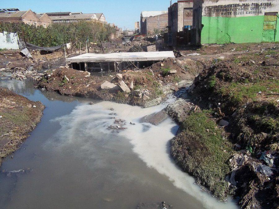Llega la VII etapa  del arroyo Sarandí tras dos décadas