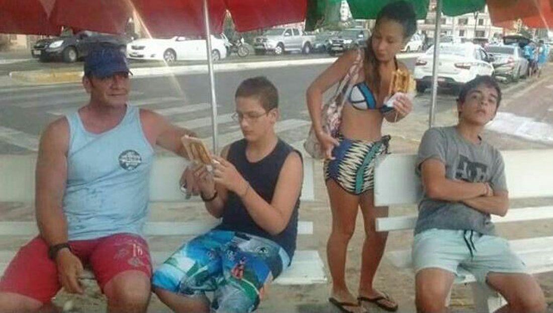 Resultado de imagen para Imagenes de nahir galarza con fernando en brasil