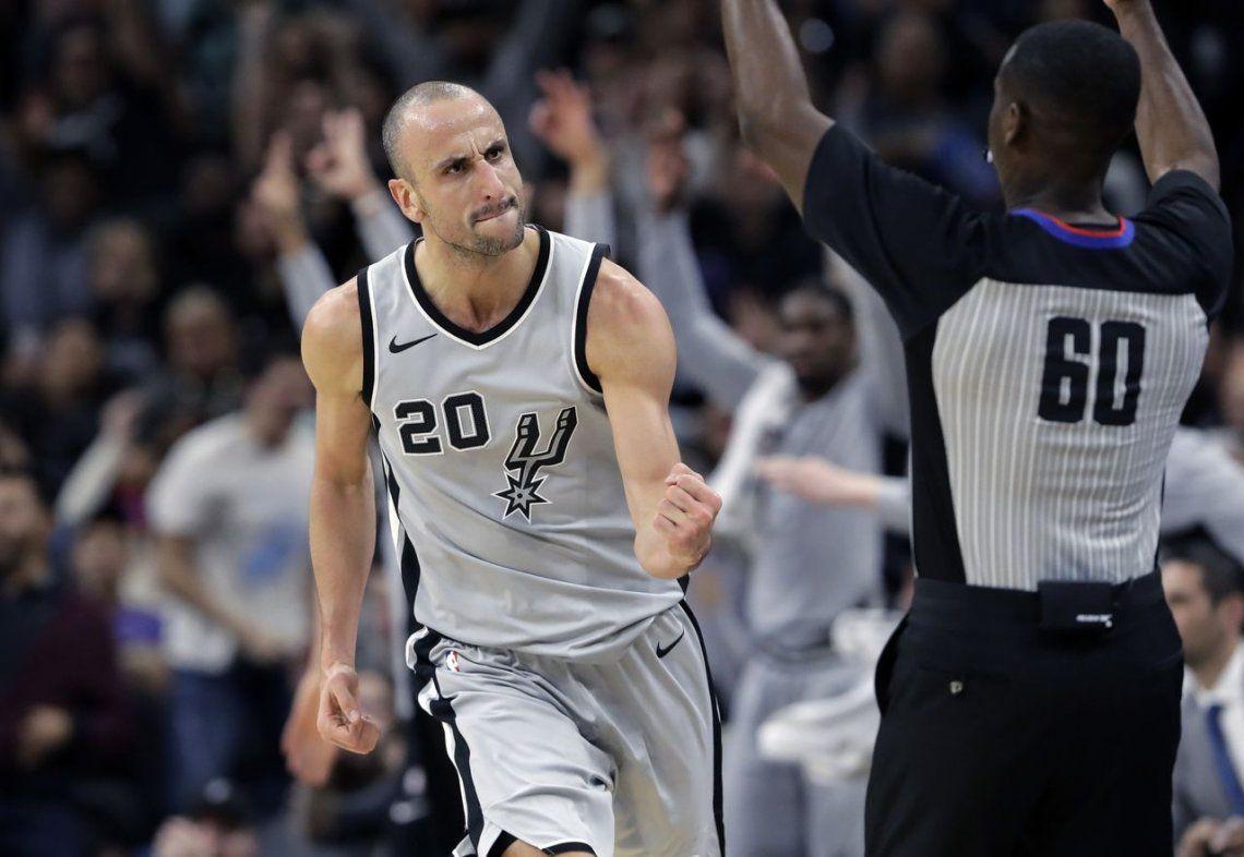 Ginóbili hace (más) historia en la NBA y hasta los rivales lo elogian