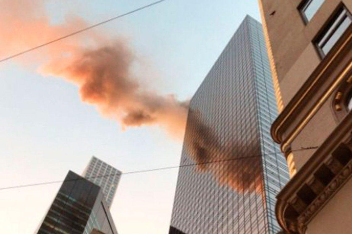 Nueva York: ardió el techo de la Trump Tower