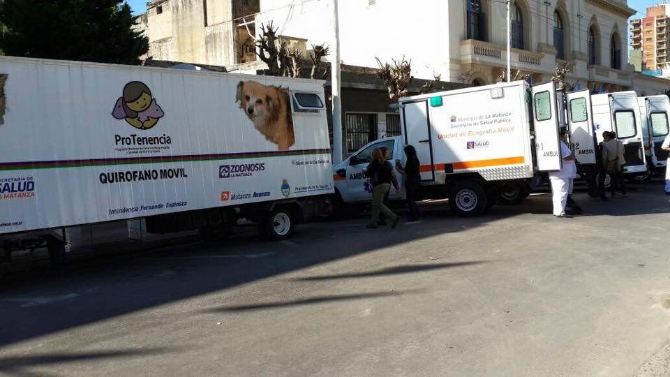 Quirófano móvil para mascotas recorre los barrios de La Matanza