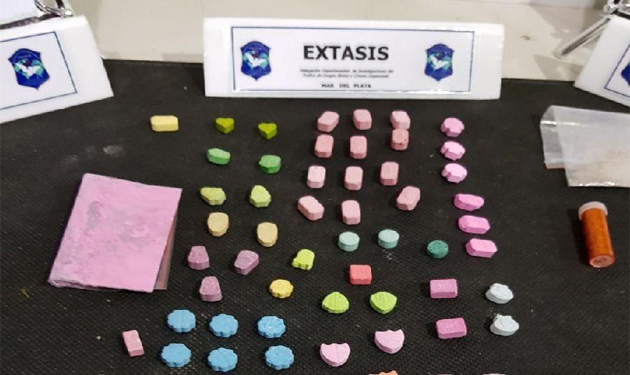 Operativo Sol: secuestran más de 130 pastillas de éxtasis