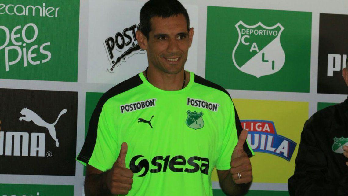 José Sand fue presentado en el Deportivo Cali