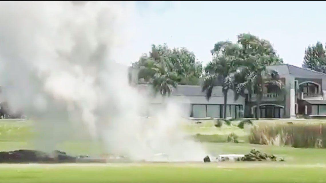 Encontraron y detonaron un misil que estaba enterrado en una cancha de golf