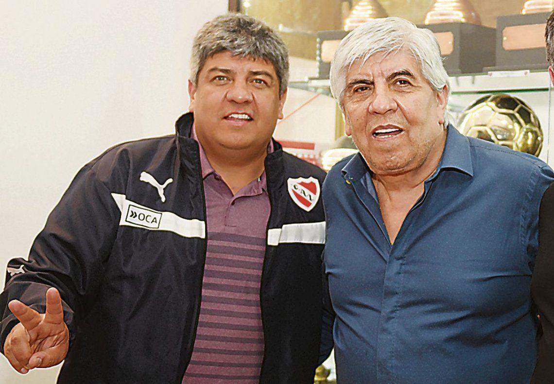 dPablo y Hugo Moyano