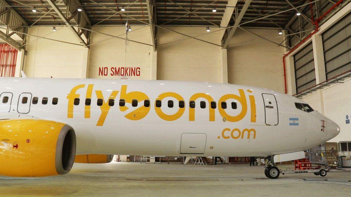 Flybondi publicó precios de los primeros low cost, pero una jueza les puso freno