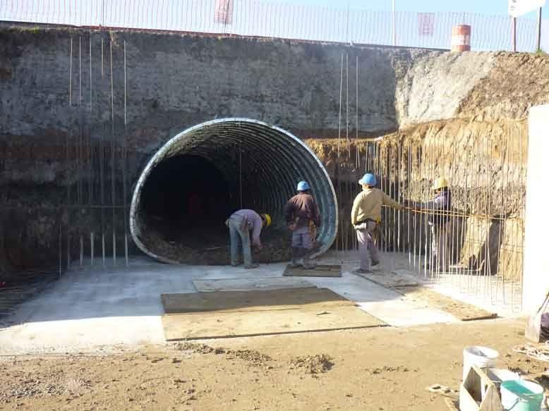 Comenzó la cuarta etapa de la obra de saneamiento del Arroyo Soto