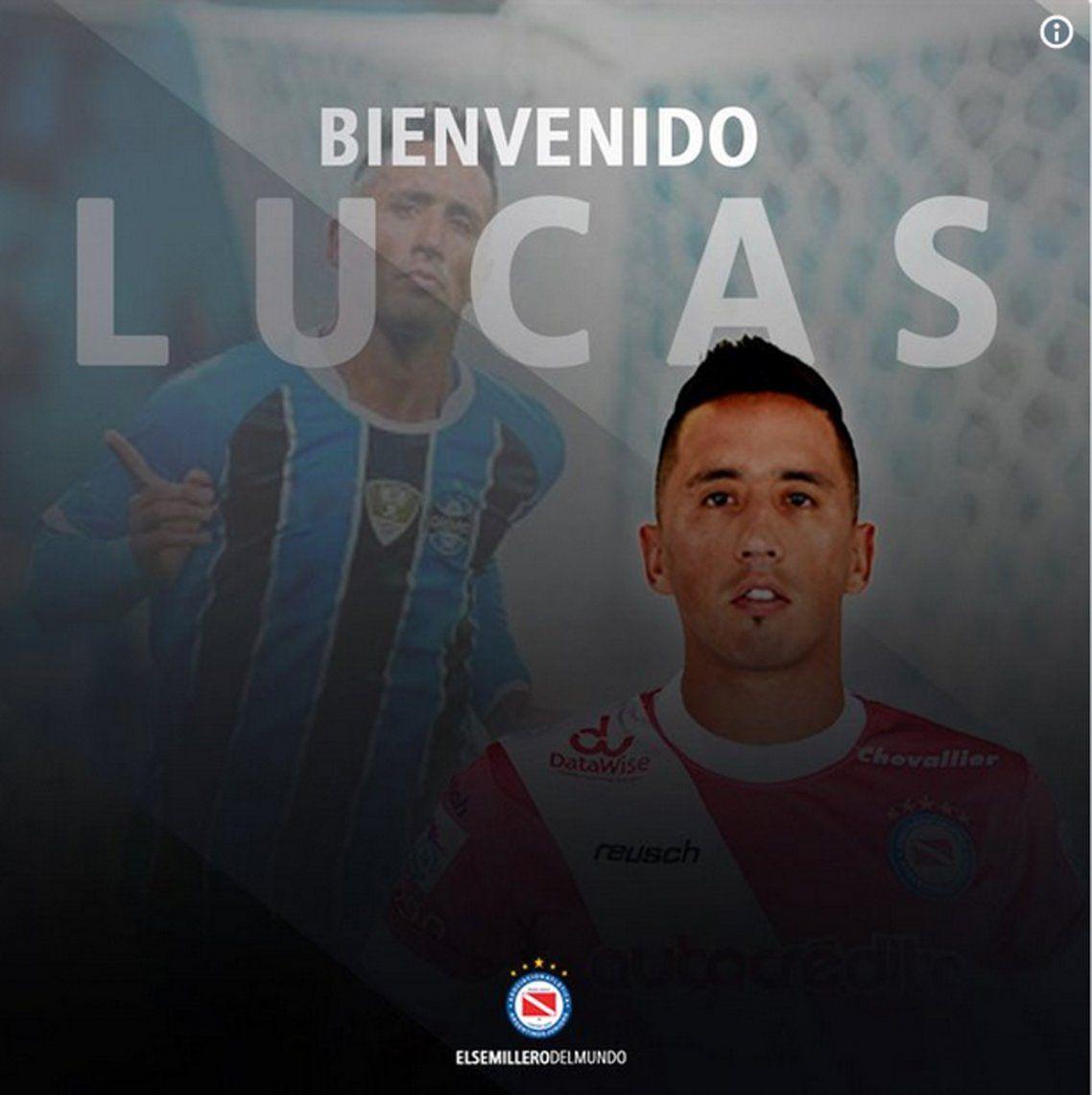 Refuerzo de lujo: Lucas Barrios vuelve a Argentinos