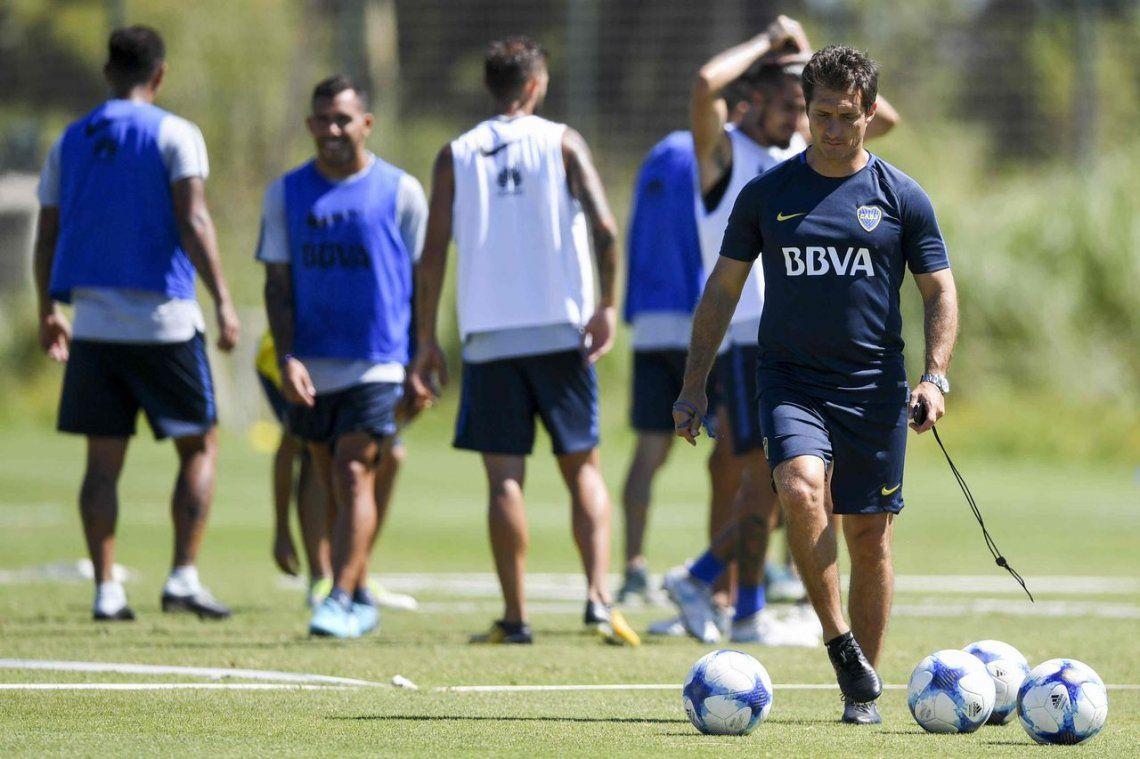 Guillermo Barros Schelotto comparó al plantel de Boca con los del Barcelona y el Real Madrid