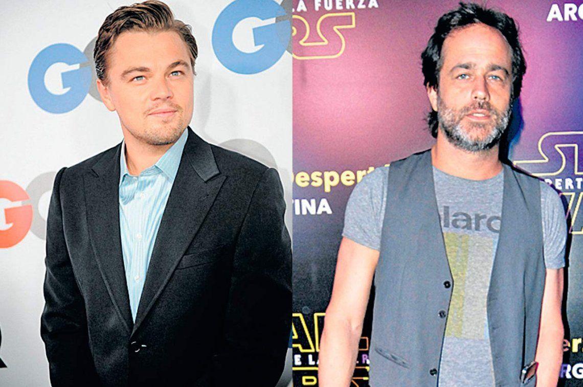 Leonardo DiCaprio y Gastón Pauls preparan dos películas biográficas
