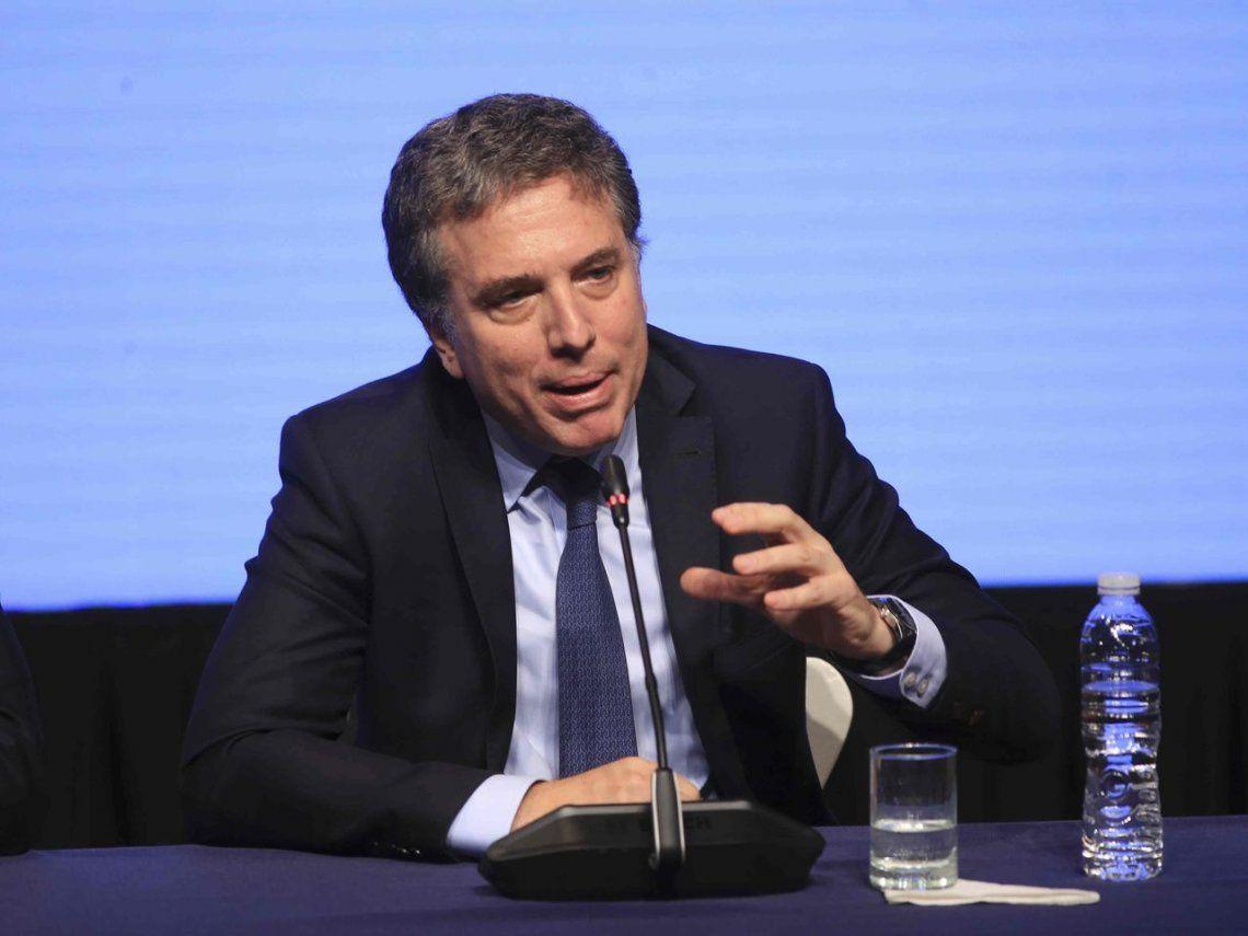 Para Nicolás Dujovne, la meta del 15% de inflación no se cambia